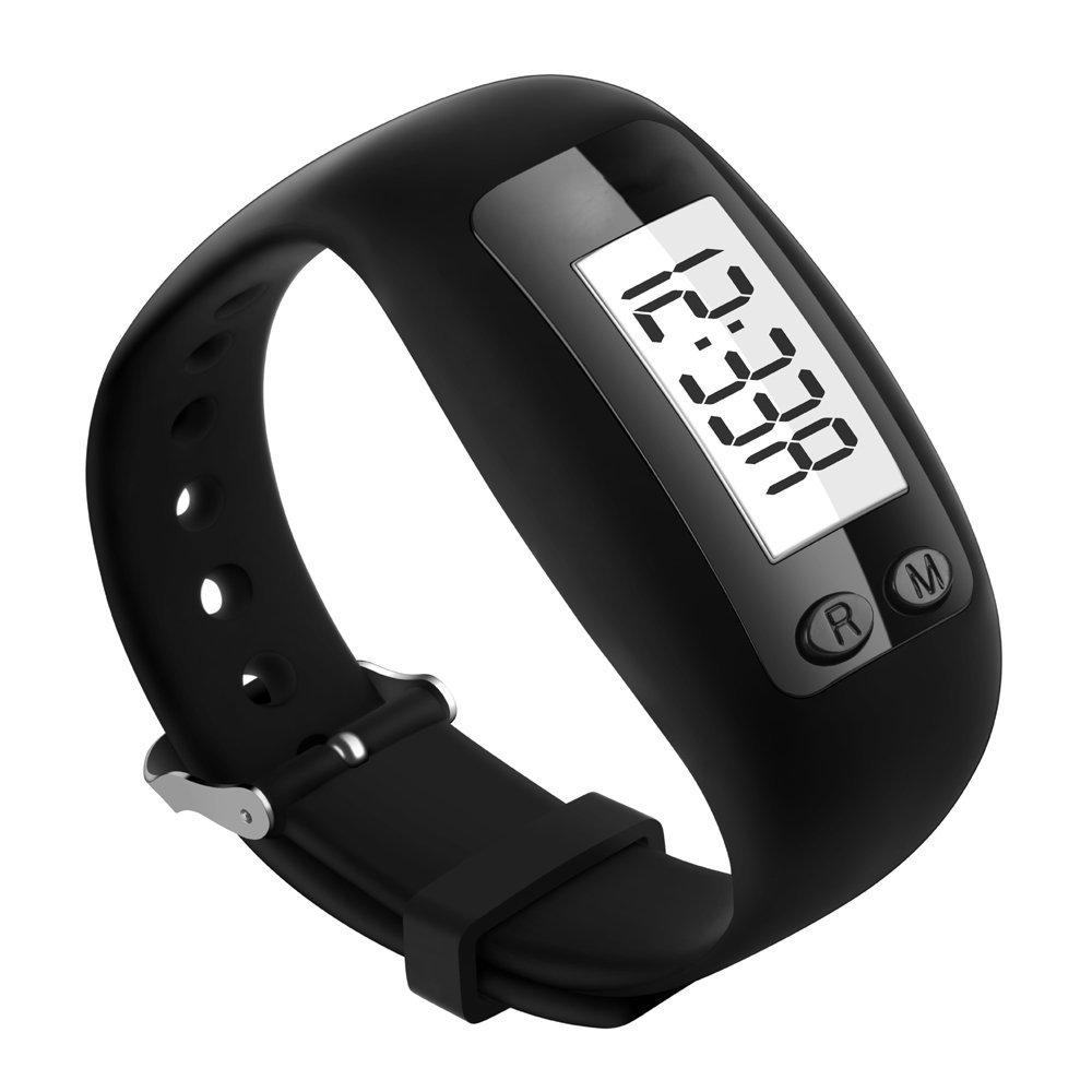 Greemosi, contapassi, LCD digitale, braccialetto fitness